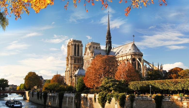 Vista da Catedral de Notre-Dame