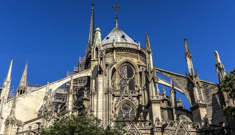 Techo de la Catedral Notre-Dame