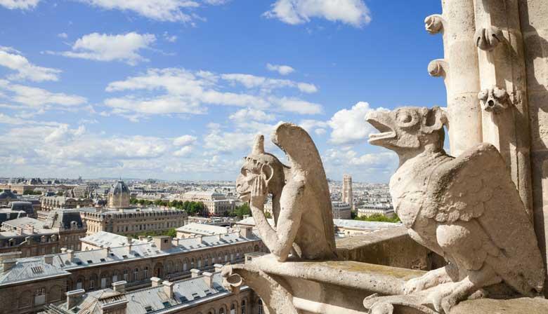 Gárgolas de la Catedral Notre-Dame