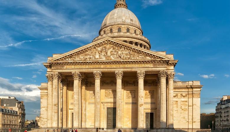 在巴黎的Panthéon教会