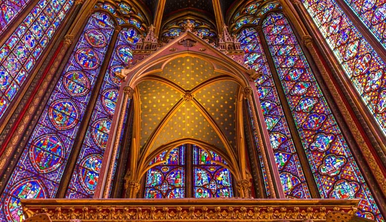 Magnificent Sainte Chapelle in Paris