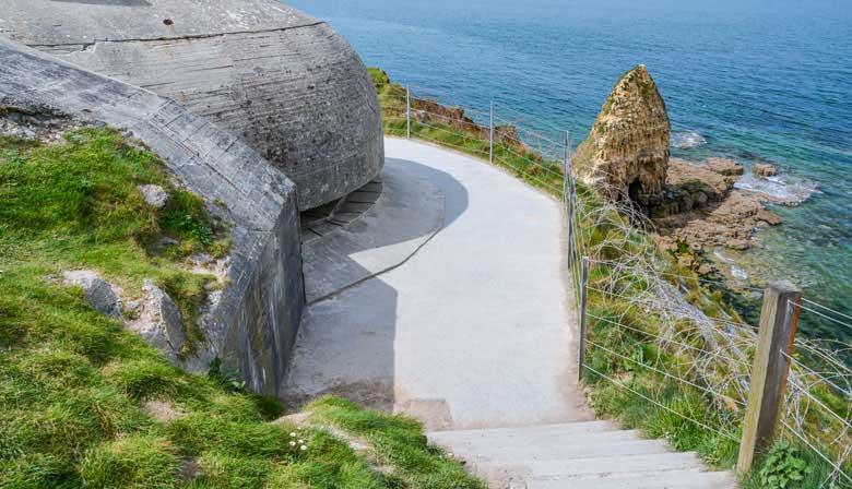 Pointe du Hoc na Normandia