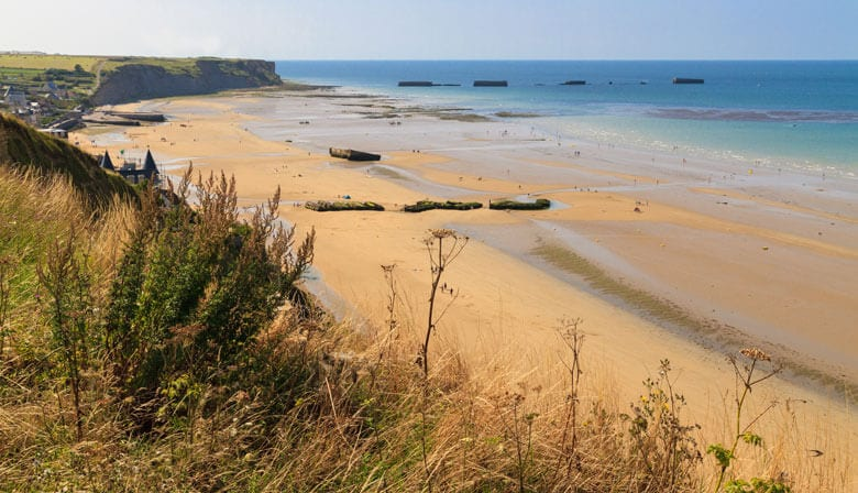 Discover the landing beaches in Normandy