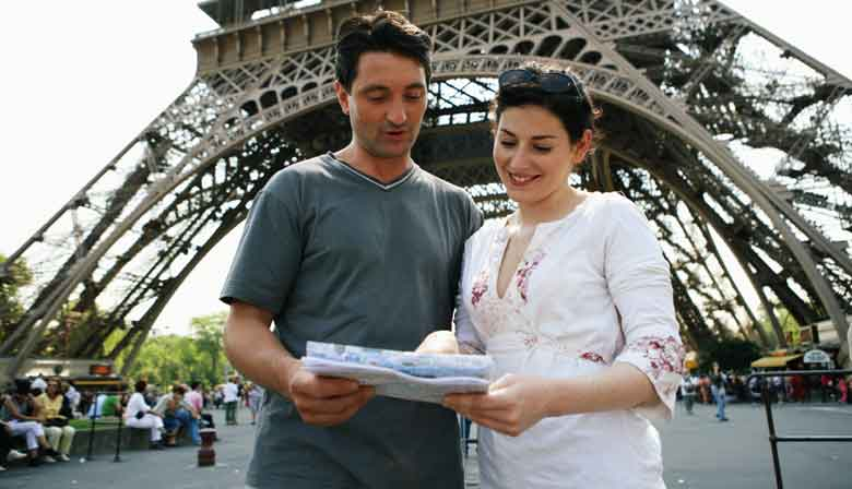 "2 Tage Metro-Pass ""Paris Visite"" Eiffelturm"