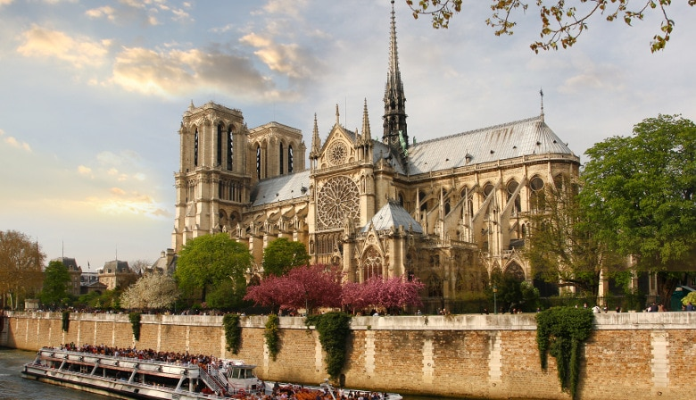Full Day Guided Walking Tour of Paris, the Louvre and Lunch at the Eiffel Tower
