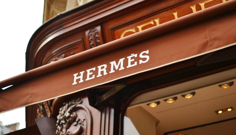 Hermès Boutique in Paris