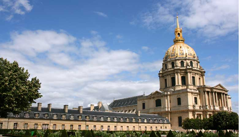 Jardins dos Invalides Paris