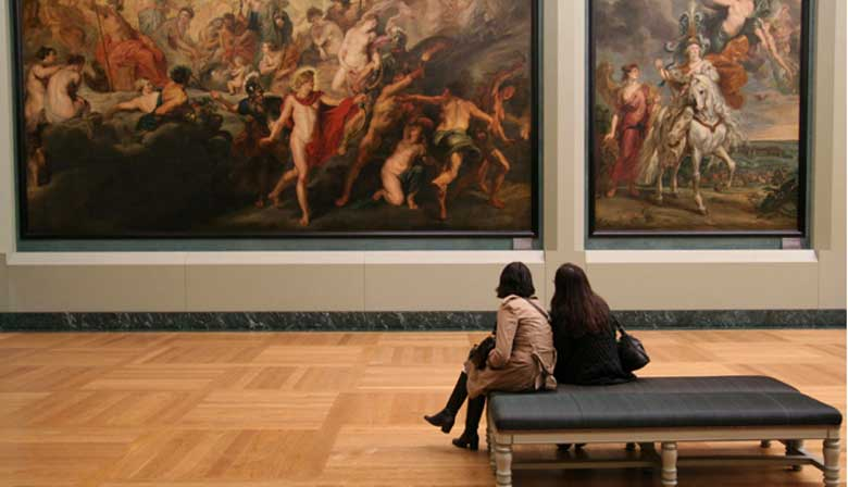 Guided visit of the louvre