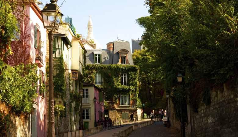 Besuchen Sie Montmartre