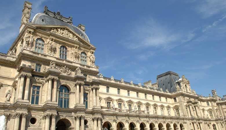 Descubierta de las obras del Louvre