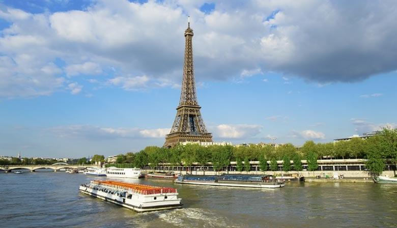 Crucero para ver la Torre Eiffel