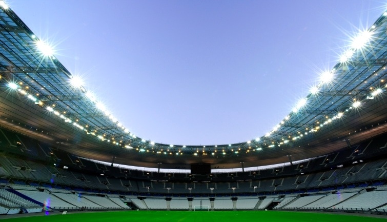 Behind the scenes at the Stade de France