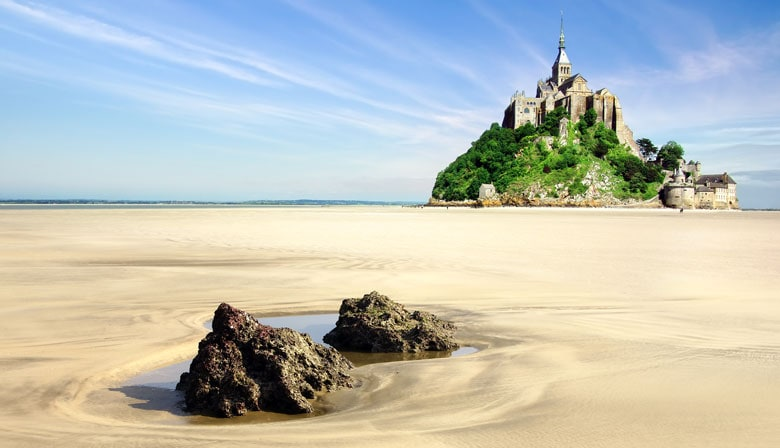 Views of Mont Saint Michel