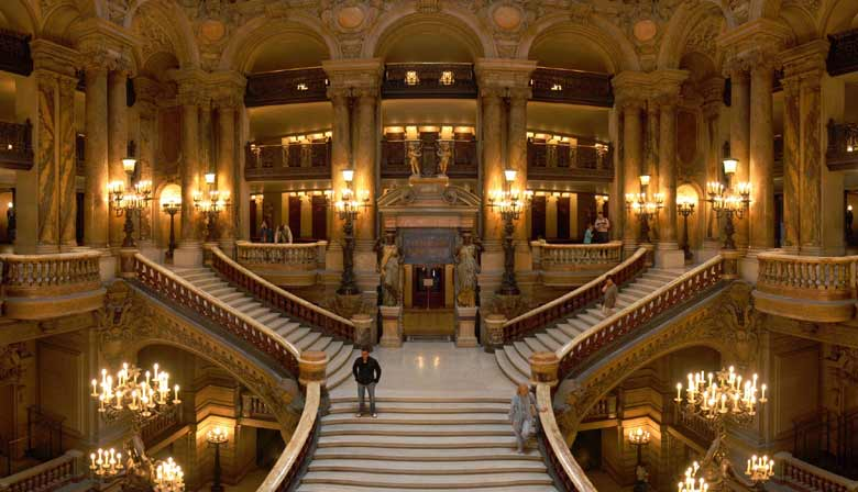 Guided visit of the Opera Garnier