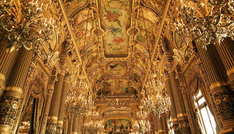 Inside the Garnier Opera House