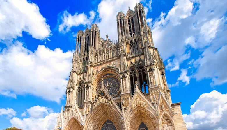 Guided visit of the Reims Cathedral