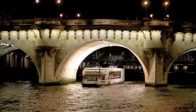 Réveillon du Nouvel An sur la Seine