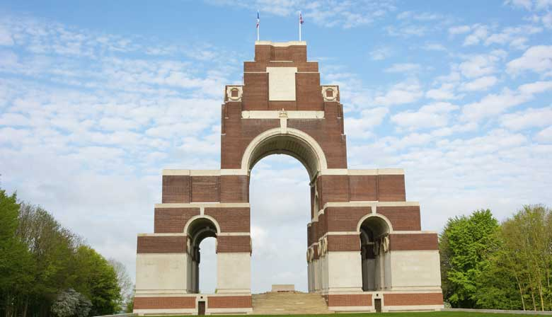 Discover the Somme world war memorial