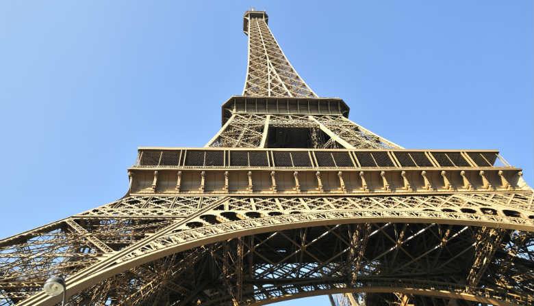 Acesso prioritario para visitar a Torre Eiffel