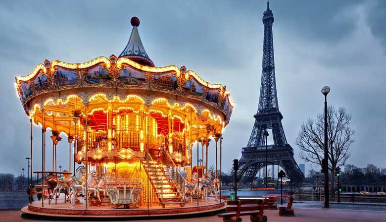 Entdecken Sie den Eiffelturm