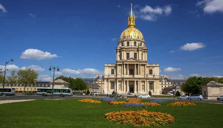 The Invalides with Museum Pass