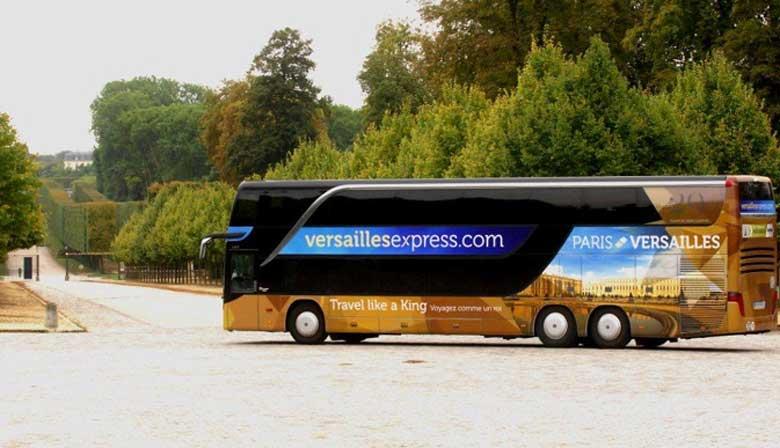 Versailles Express shuttle to Versailles