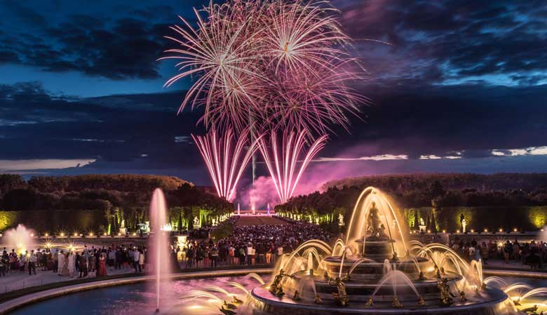 Night Fountains Show at the Palace of Versailles