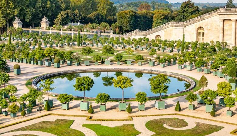 ヴェルサイユ宮殿の散策