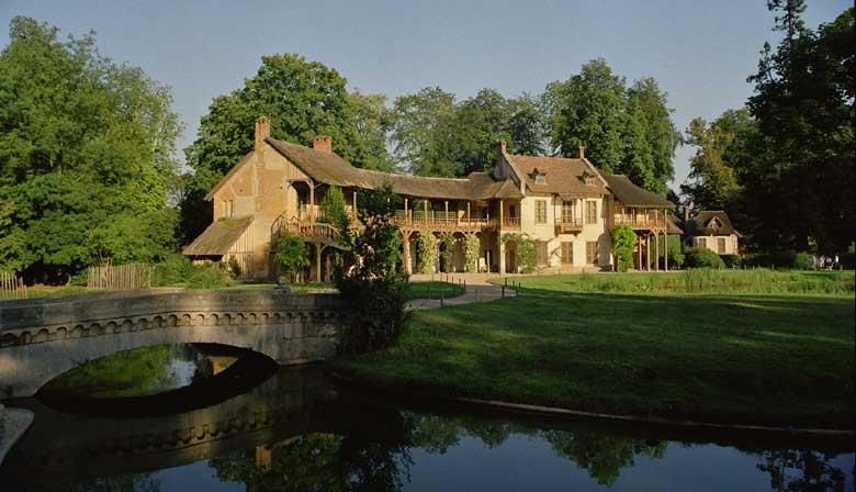 Visite du Hameau de la Reine créé pour Marie-Antoinette