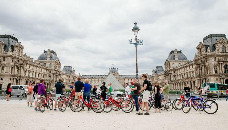 Paris Day Bike Tour - afternoon
