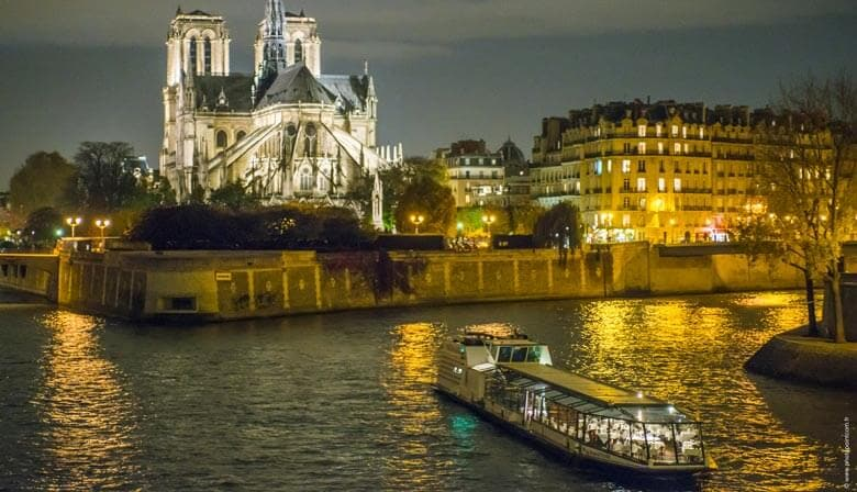 Discover Paris by night