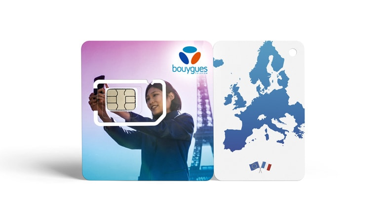 TRAVEL SIM VACATION PREPAID PLAN : 20 gigas d'internet mobile