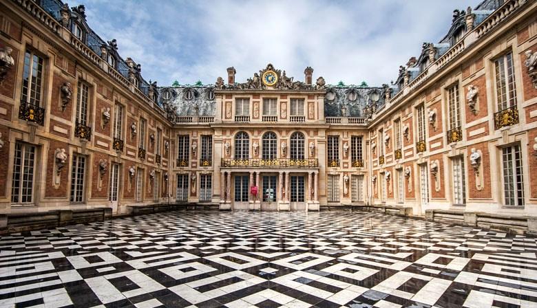Vue sur le Château de Versailles