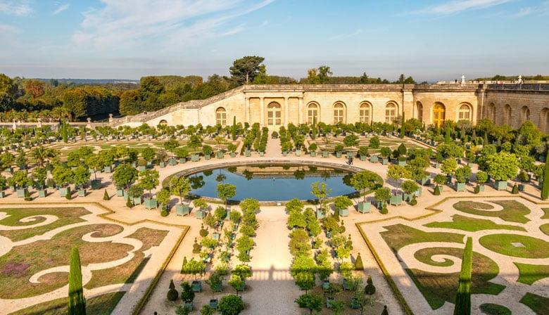 Orangerie del Palacio de Versalles