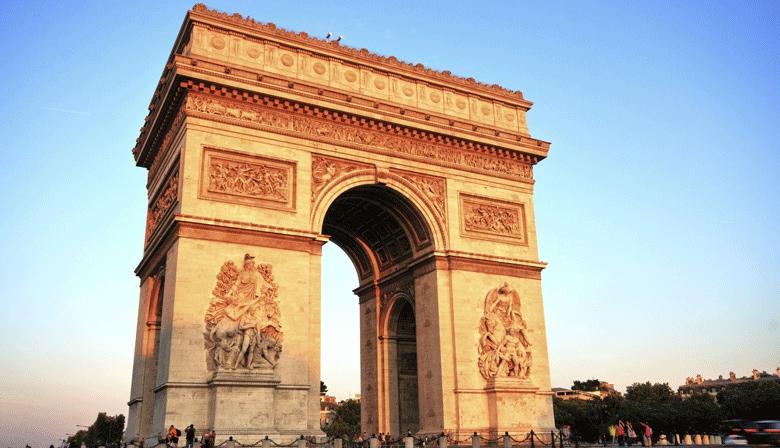 Visit the Arc de Triomphe