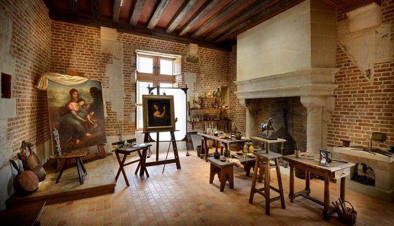 Léonardo da Vinci's workshop