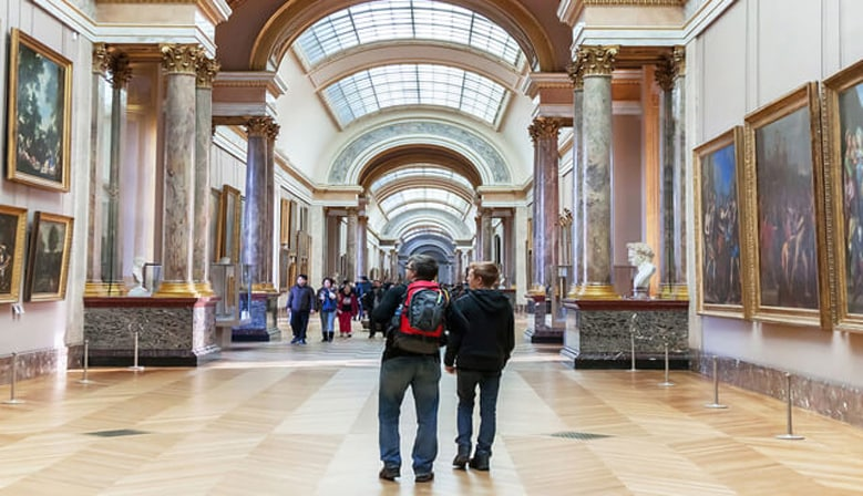 Discover the Louvre Museum in a Small Group
