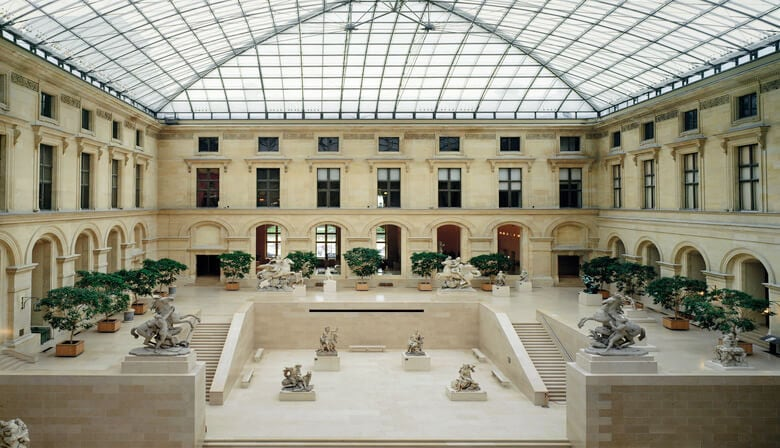 Cour Marly - Sculpture department
