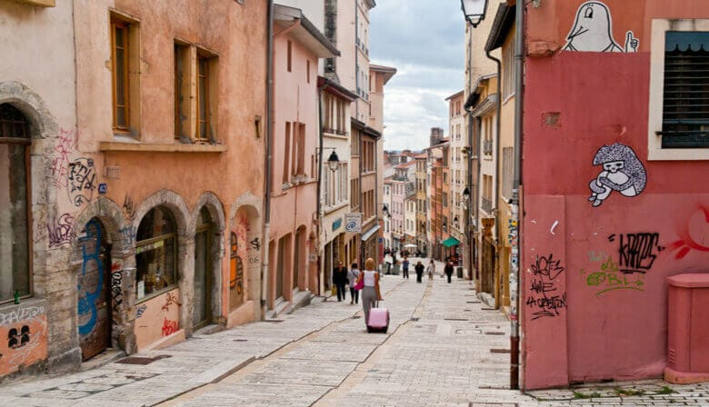 Have a walk in the old city of Lyon