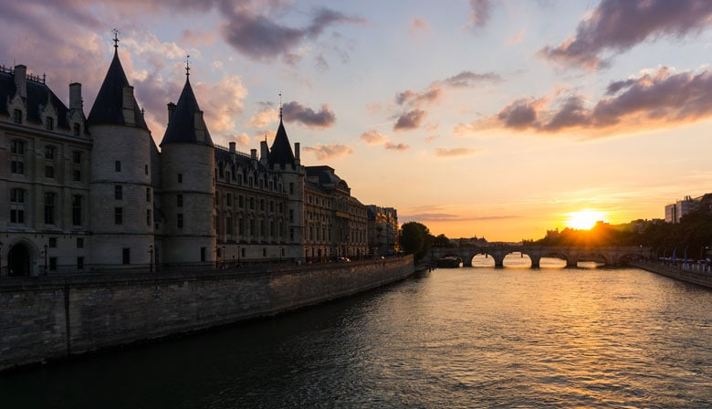 Enjoy a walk along the Seine river