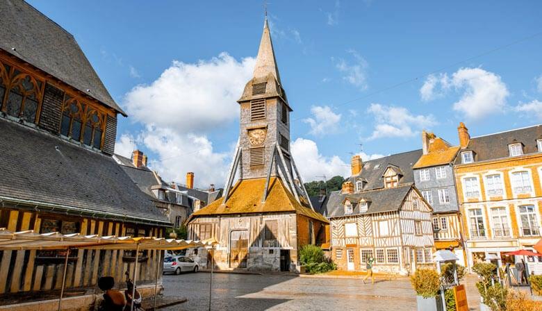 Beautiful city of Honfleur
