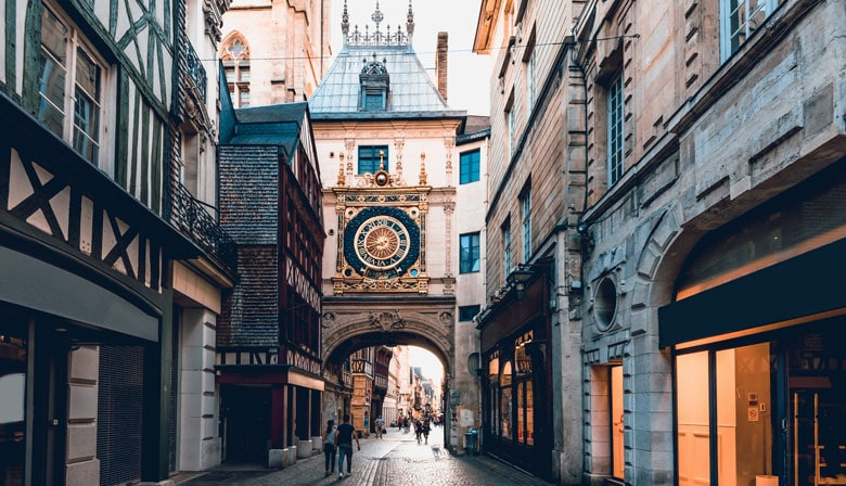 The Gros Horloge of Rouen