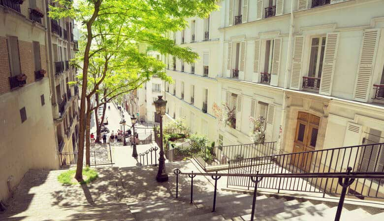 Visit Montmartre district on your own