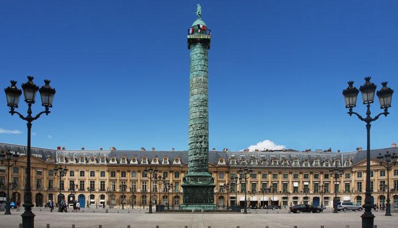 Visite à pied Place Vendôme