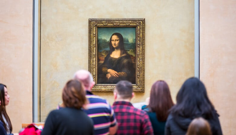 Discover the most famous paintings at tje Louvre Museum