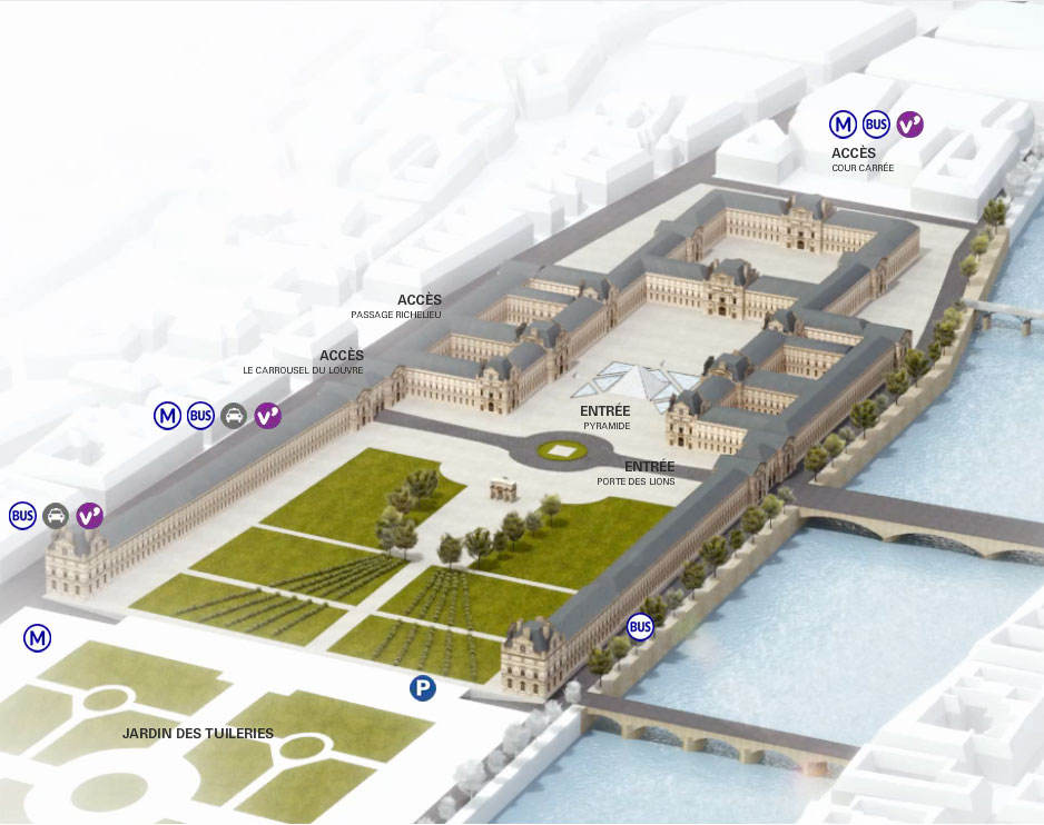 Departments And Collections Of The Louvre Museum Pariscityvision
