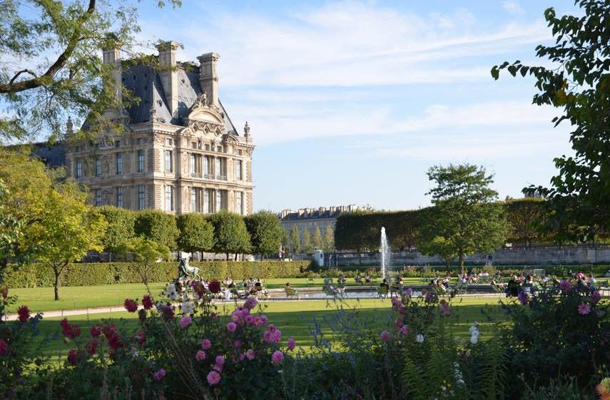 Tuileries Garden and Carrousel Gardens Paris - PARISCityVISION