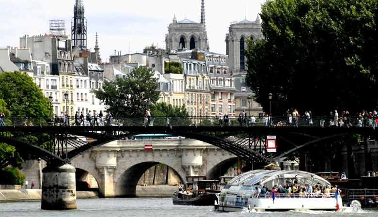 Full Day Guided Walking Tour of Paris, the Louvre and Notre-Dame Area, Lunch-Cruise included