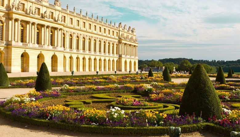 Admire the Palace from the beautiful gardens