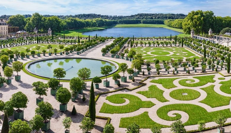 Visit the beautiful and unique gardens of Versailles